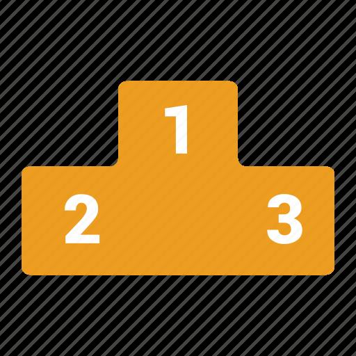 Leaderboard, level, rank, best, trophy, prize, winner icon - Download on Iconfinder