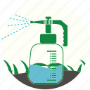 aerosol, garden, gardening, grass, nature, plant, spray icon