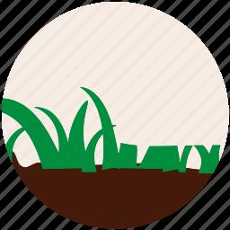 garden, gardening, grass, nature, plant, soil, tree icon