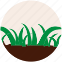 garden, gardening, grass, nature, plant, soil, tree icon