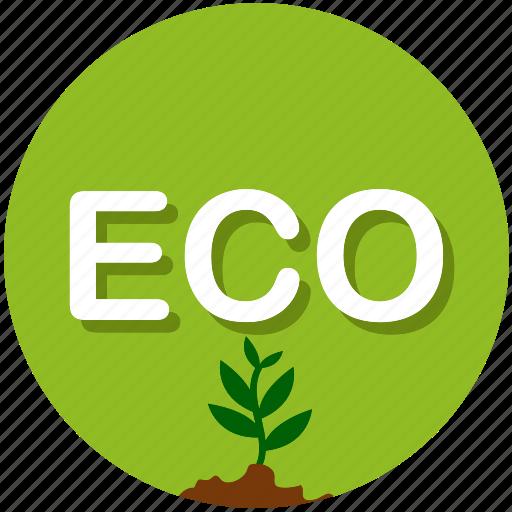 eco, garden, gardening, grass, nature, plant, tree icon