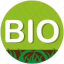 bio, garden, gardening, grass, nature, plant, soil icon