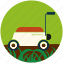 garden, gardening, grass, rose, spray, watering can, watering pot icon