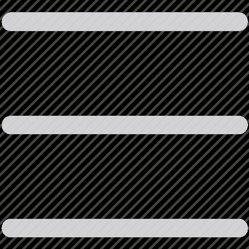 hamberger, list, menu icon