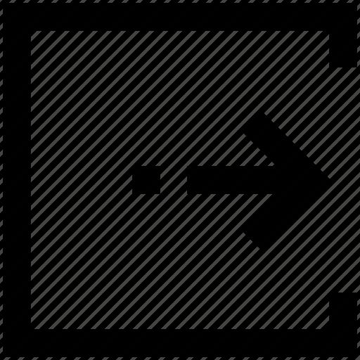 Arrow, enter, login icon - Download on Iconfinder