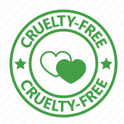animal testing, cruelty, free, stamp, vegan, vegetarian icon