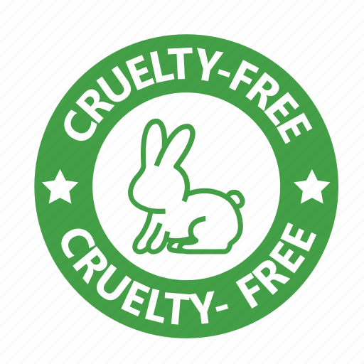 Animal Testing Cruelty Free Stamp Vegan Vegetarian Icon