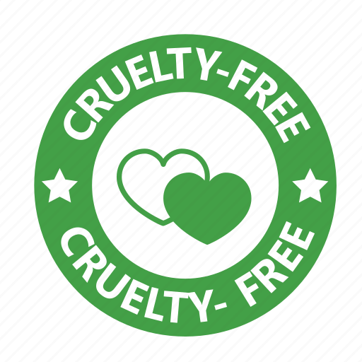 animal testing, cruelty, free, stamp, vegan, vegetarian icon