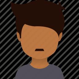 african, avatars, hairstyles, heads, japanese, man icon