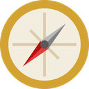 arrow, compass, direction, location, navigate, navigation, pointer icon
