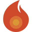 fire, candle, hot, flame, light icon