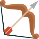 bow, hunting, arrow, arrows, shoot, weapon icon