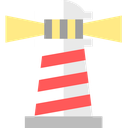light, lighthouse, nautical, navigation, ocean, sea, shine icon