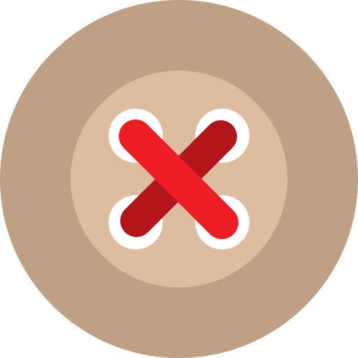 basic, buttons, red, stud icon