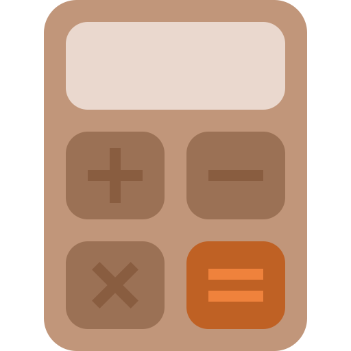 Calculator, accounting, calculate, calculation, math, school icon - Free download