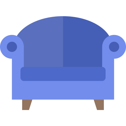 chair, couch, furniture, home, interior, room, seat icon