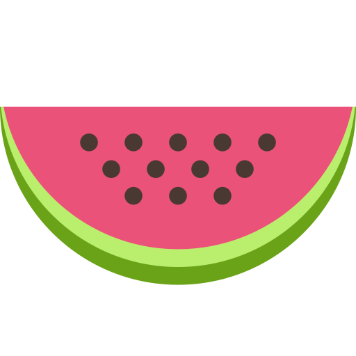 food, fruit, meal, sweet, vegetable, watermelon icon