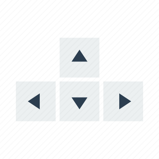 arrow, keyboard, keys icon