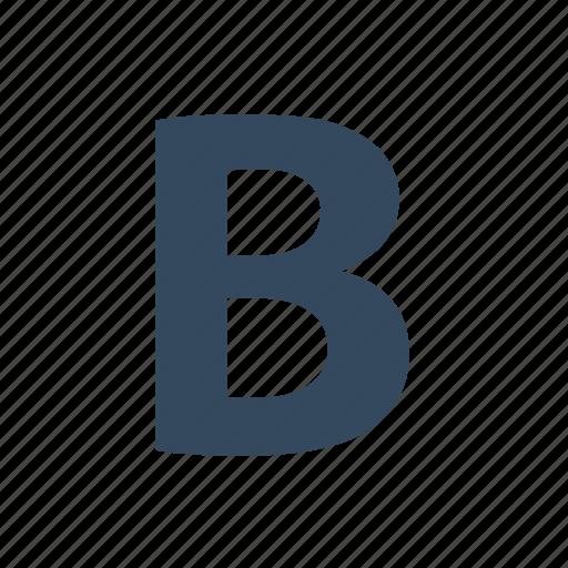 bold, font, type icon