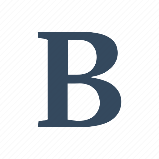bold, font, type icon