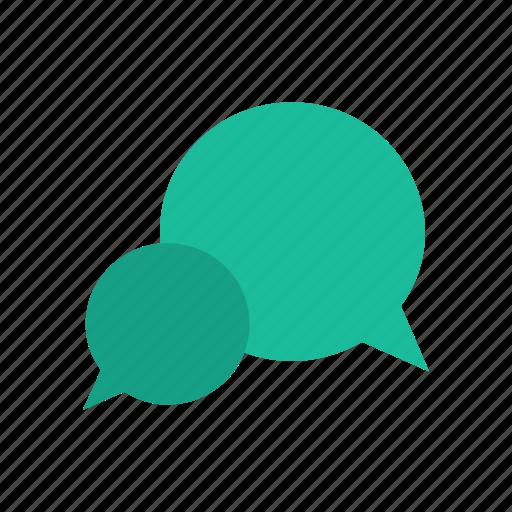 bubble, chat, convo, speech, talk icon