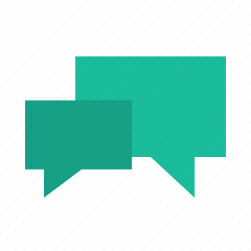 chat, convo, speech, talk icon