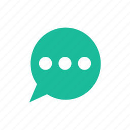 bubble, chat, speech, type, typing icon