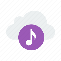 cloud, music, storage, tunes icon