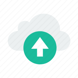 cloud, storage, up, upload icon