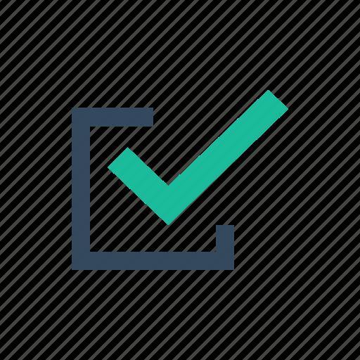 Checkbox, checkmark, edit icon - Download on Iconfinder