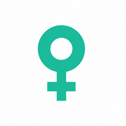 female, gender, she, sign icon