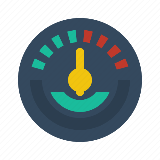 gauge, meter icon
