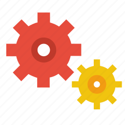 gears, settings icon