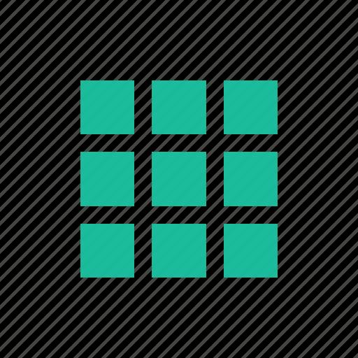 grid, tile, tiles icon