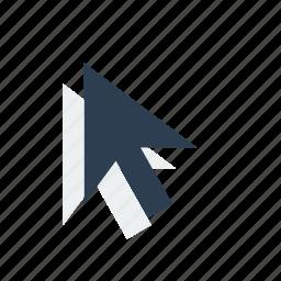 arrow, cursor, mouse icon