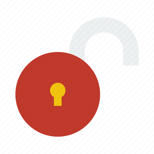 lock, security, unlock, unsecure icon