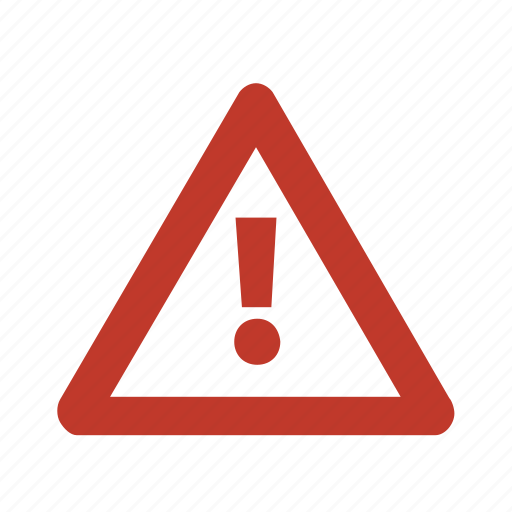 sign, warning icon