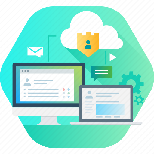Business, cloud, data, management, protection, security icon - Download on Iconfinder