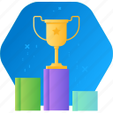 award, business, competition, sport, success, successful, win icon
