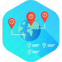 contact, destination, gprs, location, meetup, travel icon