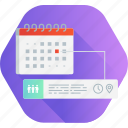 calendar, event, management, news, task, time, tracking icon