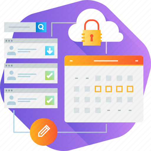 Cloud, management, project, protection, task tracking, time icon - Download on Iconfinder