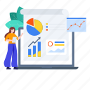business analytics, business reporting, financial, financial reporting, infographics, reporting, statistics icon