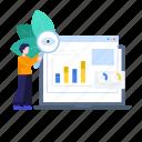data monitoring, data research, market, market analysis, market research, marketing survey, research icon