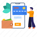 digital payment, mobile, mobile banking, mobile payment, online payment, payment, secure payment icon
