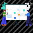 efficiency, management, multitasking, project management, task, task assignment, task management icon