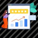 best website, client feedback, ranking, user experience, web page ranking, website, website ranking icon