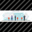 business intelligence, business plan, business strategy, data analysis, trade analysis icon