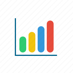 bar, business, chart, data, element, graph, infographic icon