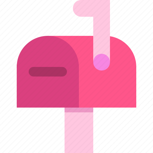 email, mail, mailbox, message, post, postbox, send icon